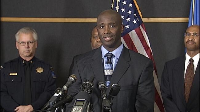 WEB EXTRA: Tulsa Police Major Walter Evans Talks About Task Force Arrests