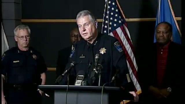 WEB EXTRA: Police Chief Chuck Jordan On Operation Random Shooter
