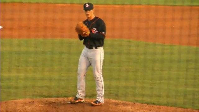 Dylan Bundy Debuts With Delmarva Shorebirds