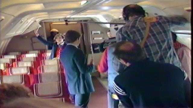 From The KOTV Vault: American Airlines Films Commercial In Tulsa