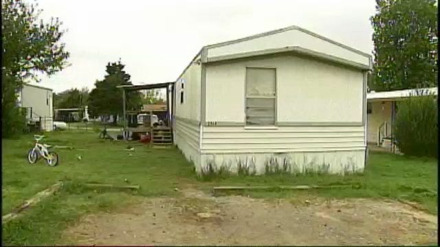 WEB EXTRA: Video From Trailer Park In Rural Creek County Where Alleged Murder Occurred