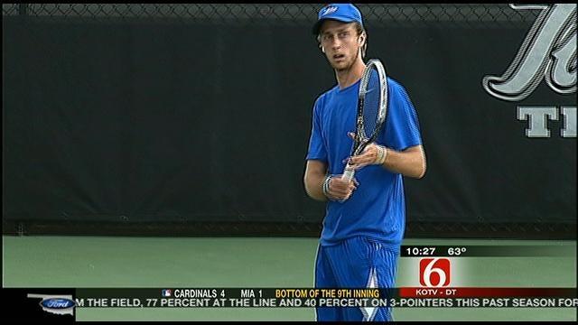 Tulsa Tennis Tops Oklahoma State