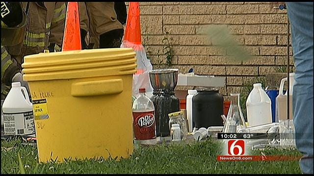 Homes Evacuated, Berryhill Couple Arrested After Dangerous Chemicals Found