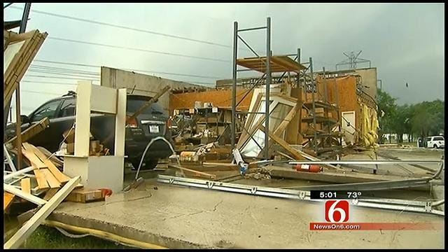 Tornadoes Touch Down In Metro Dallas Area