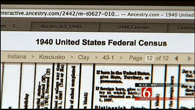 Tulsa Genealogists Excited about Census Release