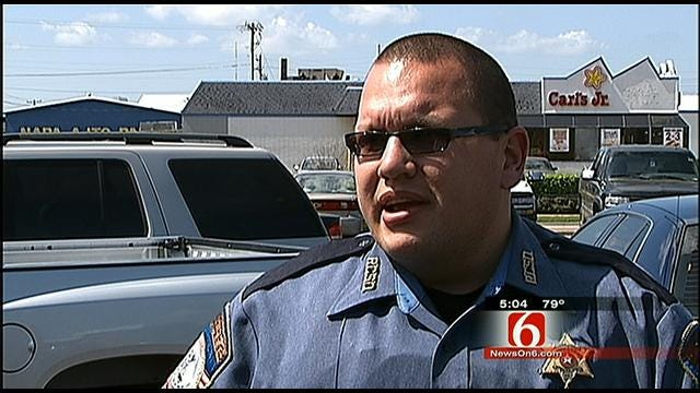 Rogers County Deputy 'Sick' After He Says Parents Took Infant Along On Burglary