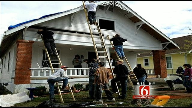Green Country Youth Group Returns After Joplin Aid Work