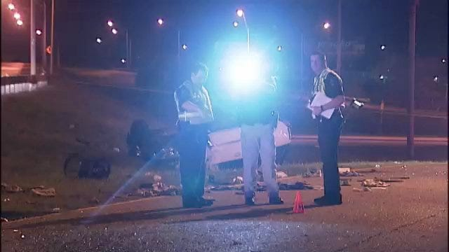 WEB EXTRA: Scenes From Fatality Wreck On BA Expressway