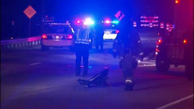 WEB EXTRA: Scenes From Fatality Wreck On Highway 169
