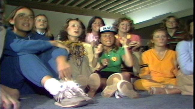 From The KOTV Vault: Sorority Sisters Watch TU Basketball Game In 1981