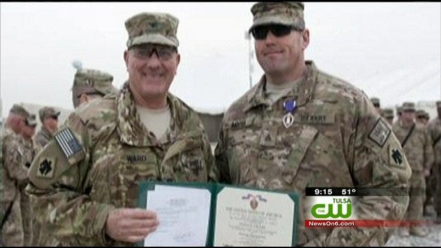 Tulsa Police Officer Honored With Purple Heart