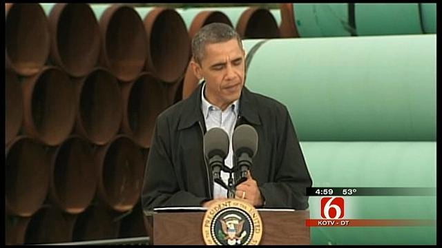 In Cushing, Obama Says He Wants Fed To Cut Red Tape, Expedite Pipeline