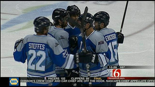 Oilers Edge Laredo After Late Comeback