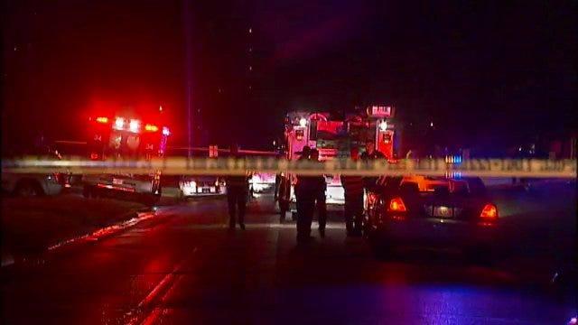WEB EXTRA: Tulsa Police Officer Leland Ashley Briefs Press On Officer Involved Shooting