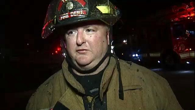 WEB EXTRA: Tulsa Firefighter James O'Neal Returns To Work After Injury