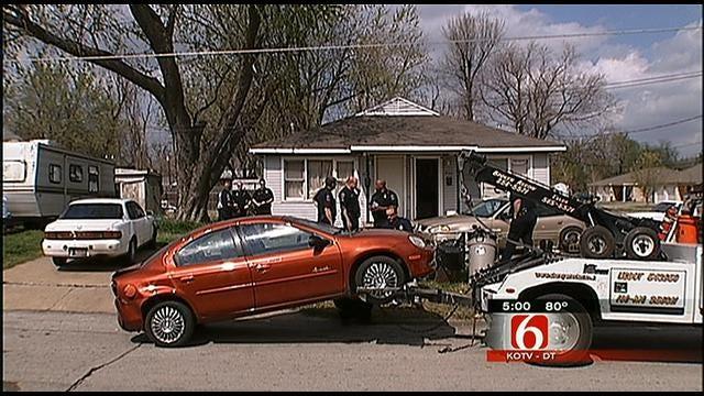 Tulsa Police Find Car Taken In Brutal Home Invasion