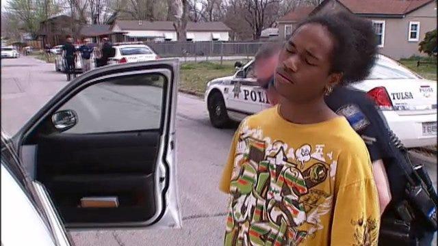 WEB EXTRA: Tulsa Police Find Car Taken In Brutal Home Invasion