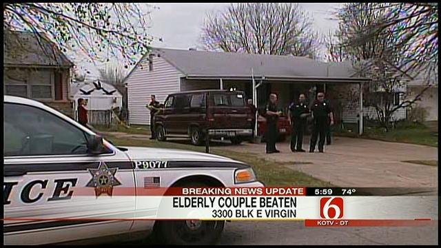 Elderly Couple Found Badly Beaten In North Tulsa Home