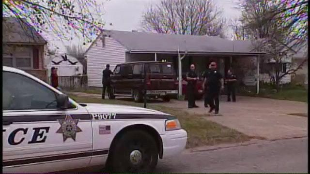WEB EXTRA: Raw Video Of North Tulsa Home Invasion