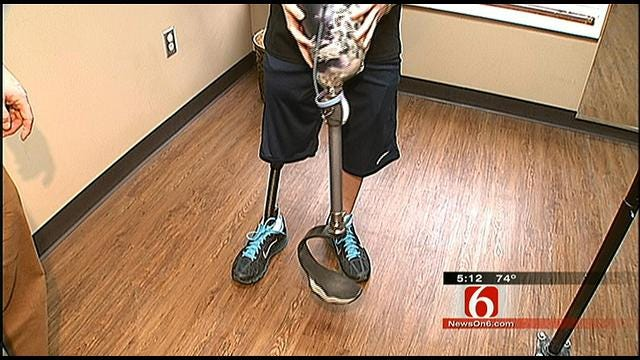 Prosthetist Draws Inspiration from Oklahoma Kids Who Are Amputees