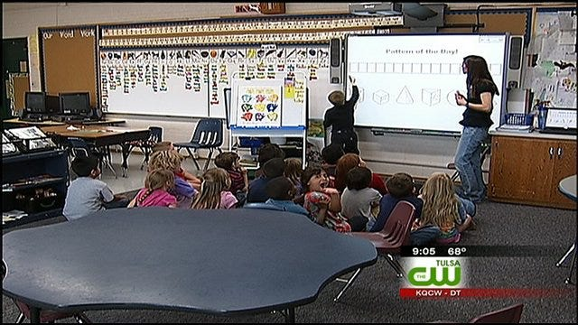 Tulsa Teacher Reacts To Emergency Funding Bill Signed Monday