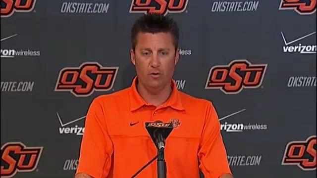OSU Coach Mike Gundy Part 1