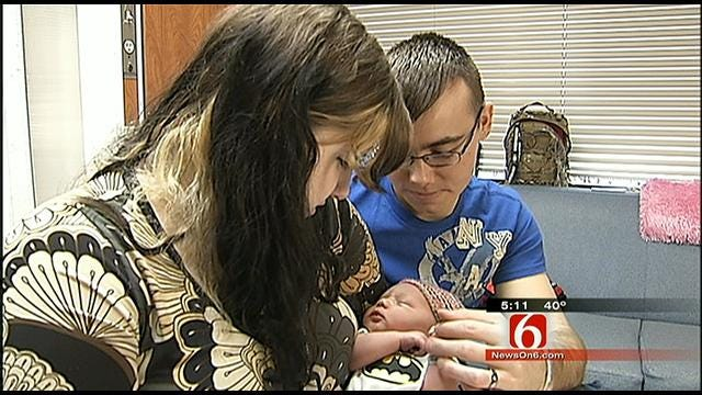 Bartlesville Soldier Returns Home To Newborn Baby