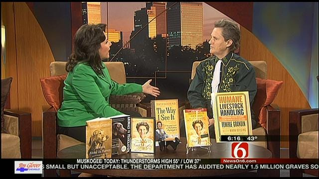 Dr. Temple Grandin visits Six in the Morning.