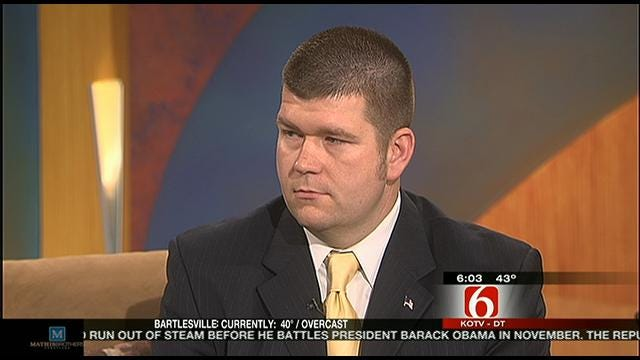 WEB EXTRA: Spokesperson Michael Willis Talks About Tulsa County Courthouse Security