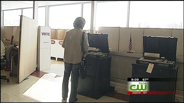 Tulsa County Reports No Problems With Voting Machines