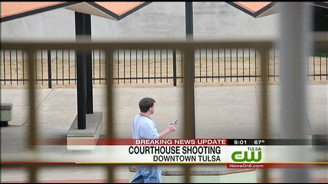 Gunman Opens Fire Outside Tulsa County Courthouse, Suspect Identified