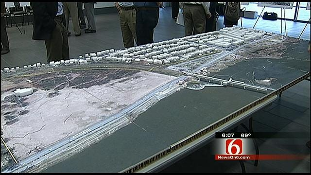 Ideas Pour In For Tulsa Riverside 'Gathering Place'