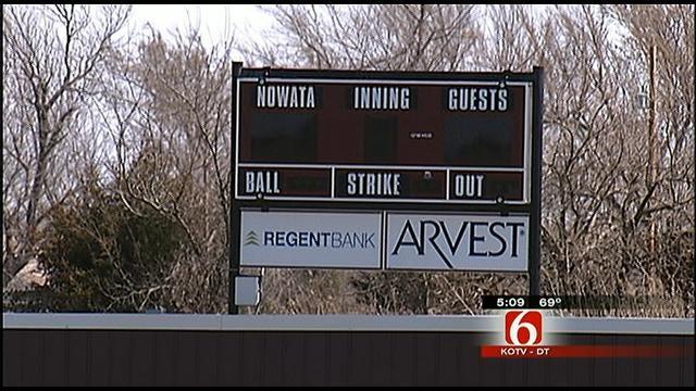 Nowata High School Baseball Field Target Of Vandals Again