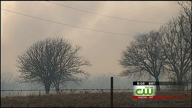 Tulsa-Area Brush Fires: Some Contained But Still Burning