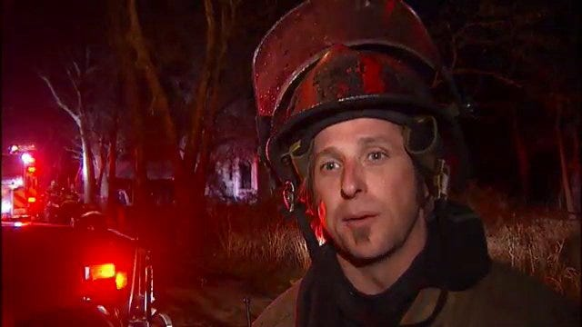 WEB EXTRA: Tulsa Fire Captain Keith Beck Talks About Vacant House Fire