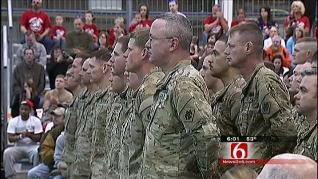 Homecoming for 45th Infantry