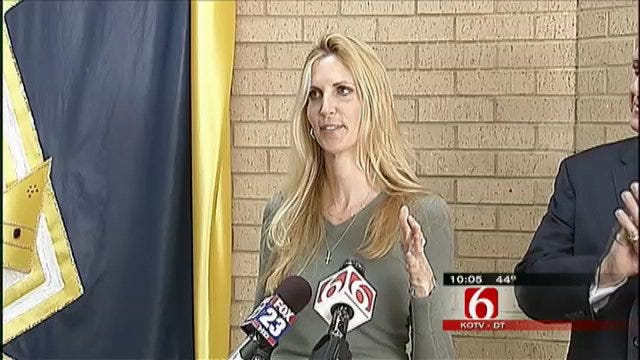 Ann Coulter Speaks At Broken Arrow Political Fundraiser