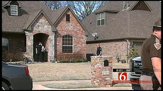 Police: Home Invasion Suspect Shoots Himself During Bixby Manhunt