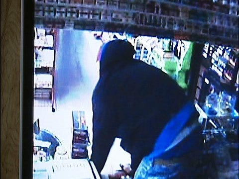 WEB EXTRA: Surveillance Video From Inside Convenience Store