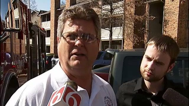 WEB EXTRA: Tulsa Fire Officer Ronnie Cole Talks About One Eton Square Fire
