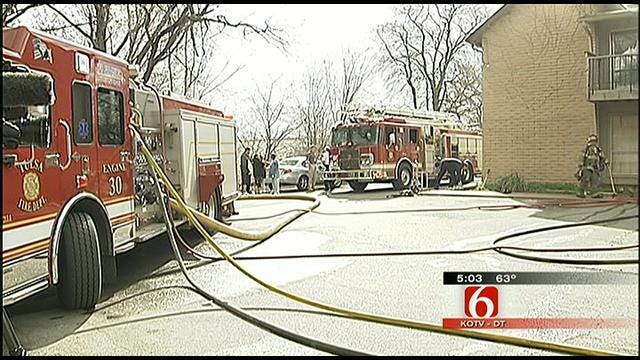 Tulsa Apartment Fire Investigated As Arson