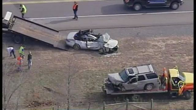 WEB EXTRA: View Of The Fatal Cherokee County Crash From SkyNews6