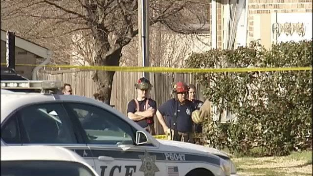WEB EXTRA: Video From Scene Of East Tulsa Meth Lab Explosion
