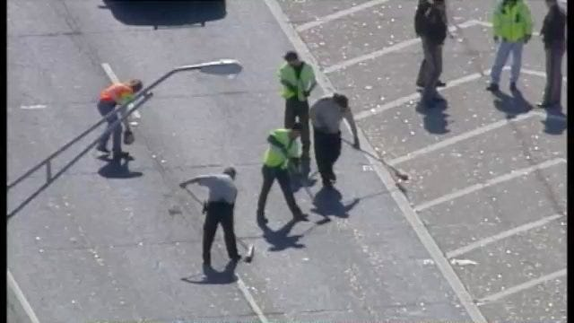 WEB EXTRA: View Of Pennies On Highway 75 From SkyNews6 Friday Afternoon