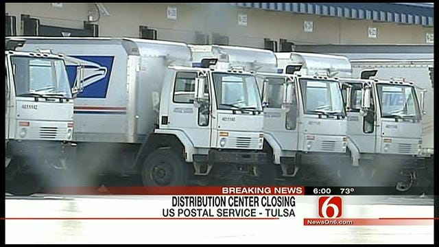 Tulsa Postal Facility To Close; More Than 500 Jobs Affected
