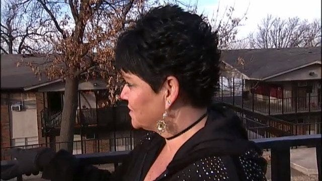 WEB EXTRA: Apartment Resident Nanette Hansmeyer Talks About How She Found Out