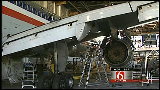 Another Incentive Package Sought To Keep American Airlines Jobs In Tulsa