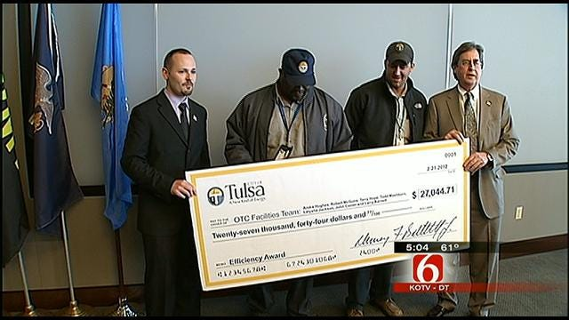 Employees Rewarded For Saving City Of Tulsa Thousands