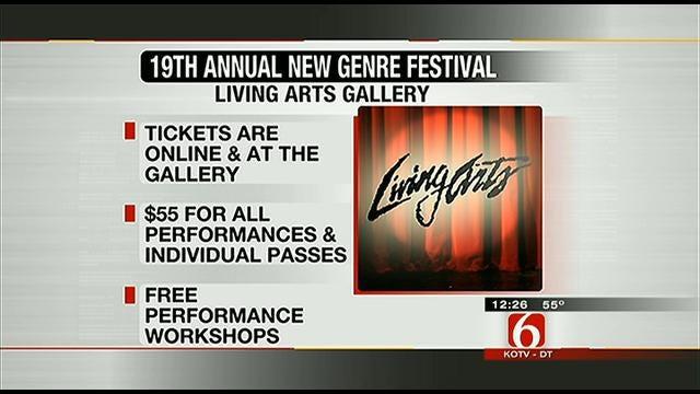 19th Annual New Genre Arts Festival