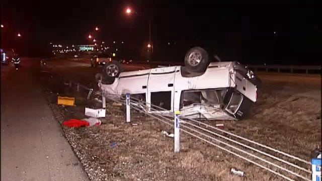 WEB EXTRA: Video From Scene Of Sand Springs Expressway Crash